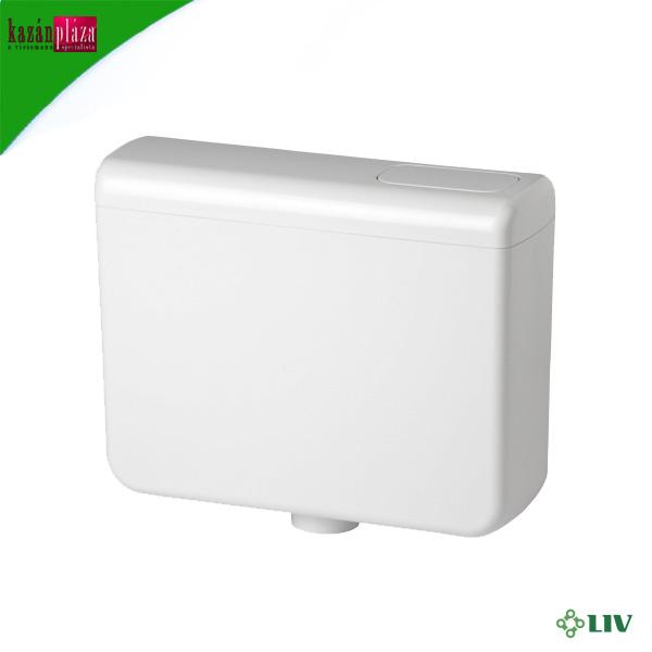 WC tartály  LIV Coral fehér alsó-felső szerelésű