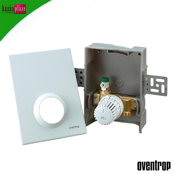 Oventrop Unibox-RTL padlófűtési szabályozóegység 10-40°C fehér